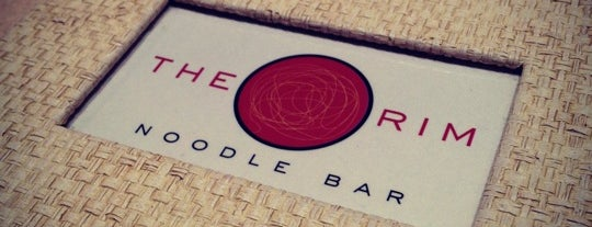 The Rim Noodle Bar is one of Tempat yang Disimpan Gary.