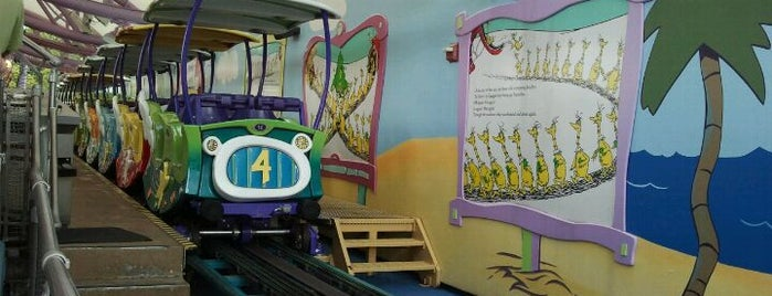 The High-In-The-Sky Seuss Trolley Train Ride is one of My vacation @Orlando.
