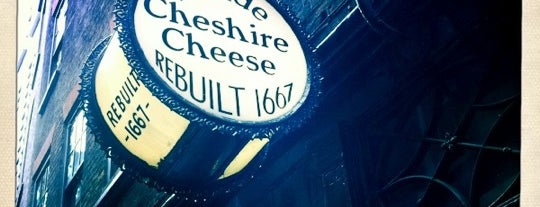 Ye Olde Cheshire Cheese is one of London's best pubs & bars.