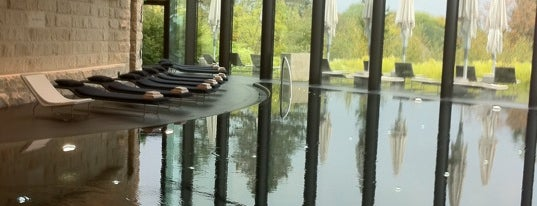 The Dolder Grand SPA is one of Lieux qui ont plu à Nick.