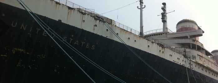 SS United States is one of Ocean Liners.