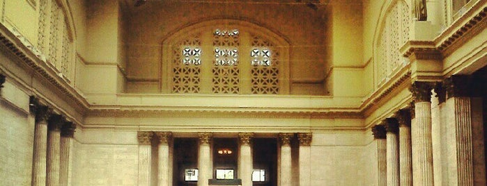 Chicago Union Station is one of Favorites!. :).