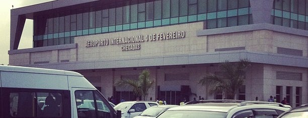Aeroporto Internacional 4 de Fevereiro is one of Airports - worldwide.