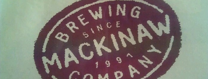 Mackinaw Brewing Company is one of Michigan Breweries.