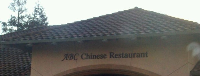 ABC Chinese is one of Tried/Experienced Places.