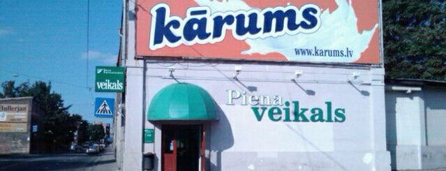 Piena veikals. Kārums is one of Posti che sono piaciuti a Денис.