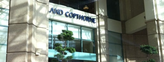 Grand Copthorne Waterfront Hotel is one of Singapore.