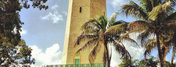 Alhambra Water Tower is one of Miami: history, culture, and outdoors.