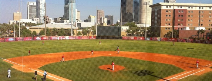 University of Tampa Baseball Field is one of Best of South Tampa Outdoors.