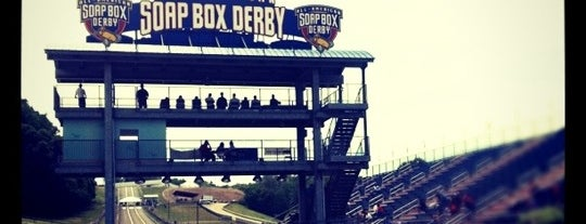 Derby Downs - Home of the All-American Soap Box Derby is one of Places to Get Your Game On.