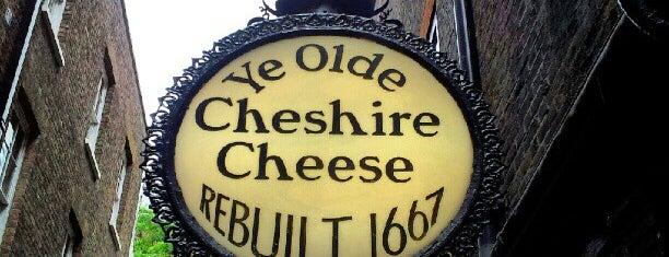 Ye Olde Cheshire Cheese is one of Pleasure Spots in the UK.