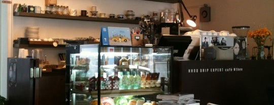 Cafe Nthen is one of South Korea: Hongdae/Hapjeong.