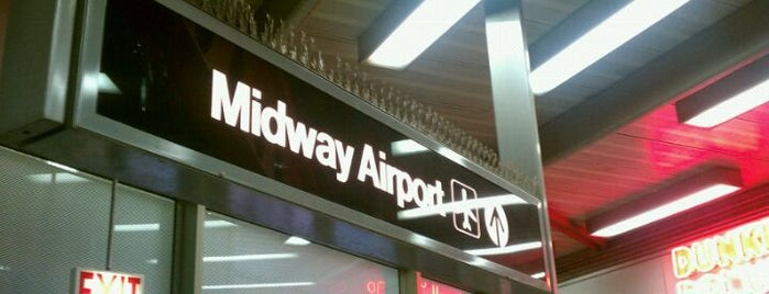 Chicago Midway International Airport (MDW) is one of Airports - worldwide.