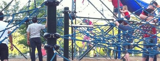 Grass Lawn Playground is one of สถานที่ที่บันทึกไว้ของ Sunjay.