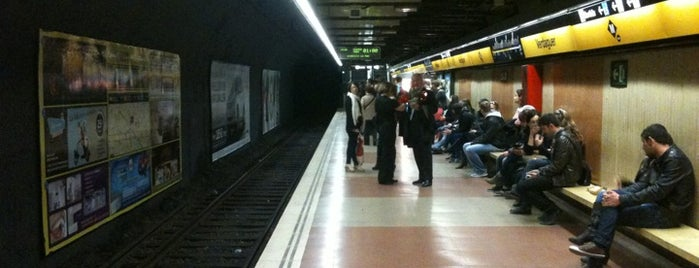 METRO Verdaguer is one of BARCELONA.