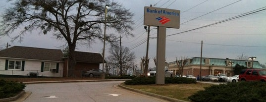 Bank of America is one of Orte, die Greg gefallen.