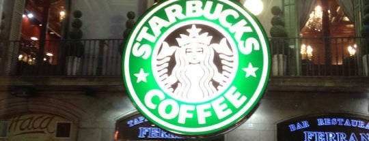 Starbucks is one of Serkan 님이 좋아한 장소.