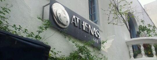 Athenas is one of Onde almoçar na Paulista.