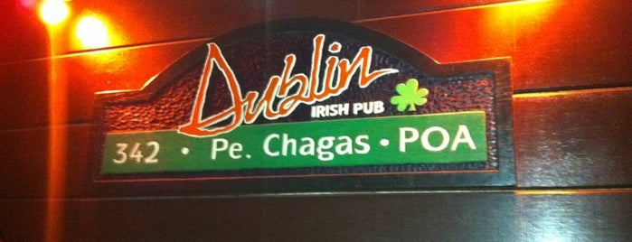 Dublin Irish Pub is one of Porto Alegre.