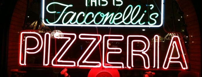 The Original Tacconelli's Pizzeria is one of Philly.