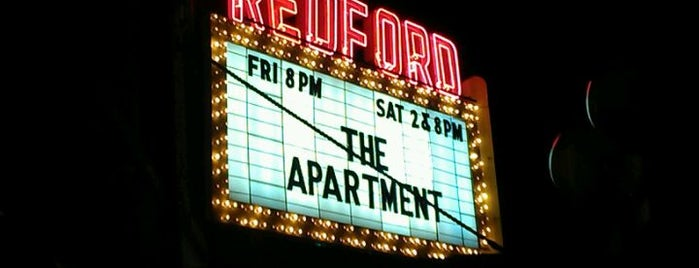 Redford Theatre is one of Detroit.