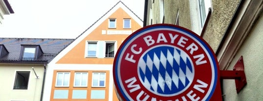 FC Bayern Fan-Shop is one of Munich / Germany.