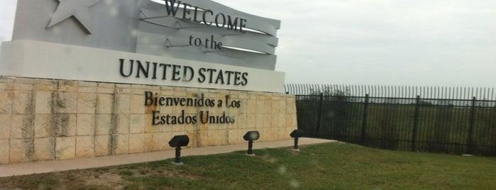 Anzalduas International Bridge is one of สถานที่ที่ Jorge ถูกใจ.