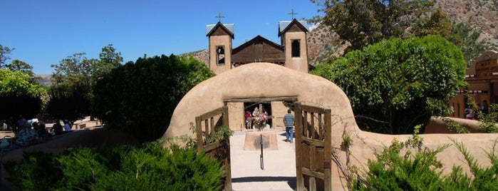 Santuario De Chimayo is one of new mexico.