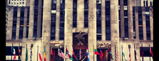 Rockefeller Center is one of NY To Do.