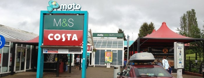 Exeter Motorway Services (Moto) is one of UK 2014.