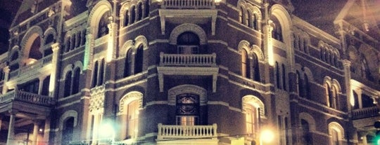 The Driskill is one of Austin, TX.
