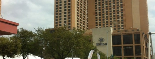 Hilton is one of Austin.