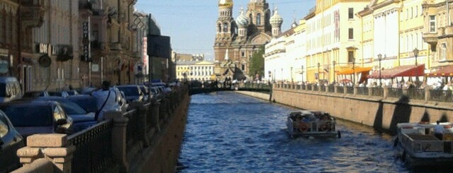 Набережная канала Грибоедова is one of Питерские каникулы 2014.