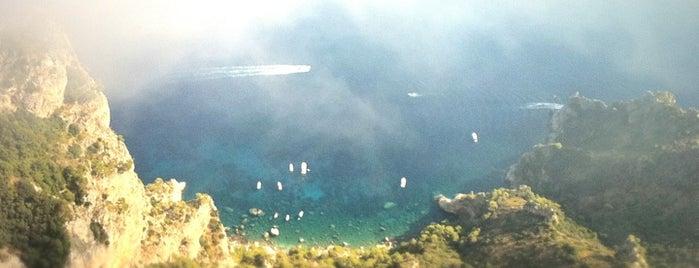 Monte Solaro is one of Capri, Napoli.