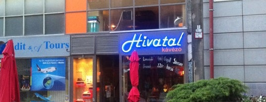 Hivatal Kávézó is one of Jánosさんのお気に入りスポット.