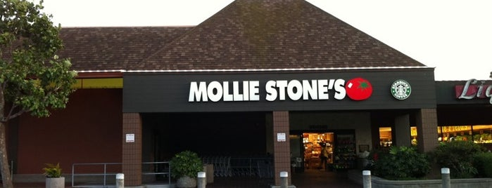Mollie Stone's Markets is one of Tempat yang Disukai Olivia.