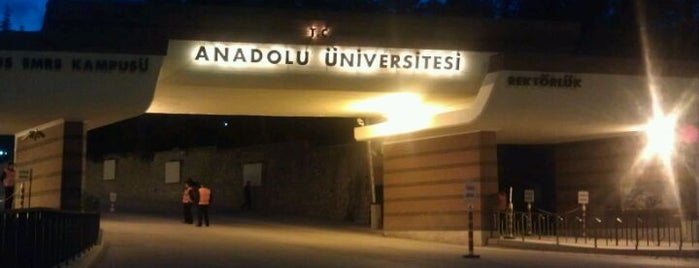 Anadolu Üniversitesi is one of Meltem Cedim 님이 저장한 장소.