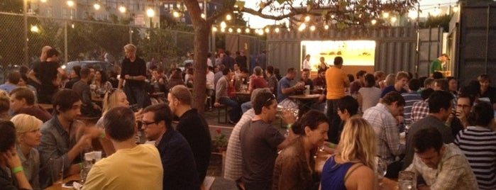 Biergarten is one of SF Bars.