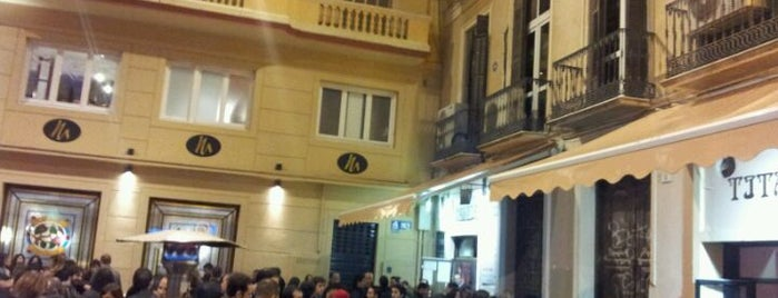 Gymkana Foursquare - Plaza Mitjana is one of 4sqDay Malaga 2012 gymkana.