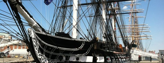 USS Constitution is one of Boston, MA.