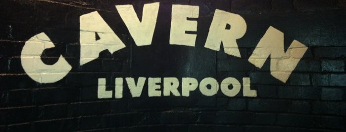 The Cavern Club is one of Liverpool.
