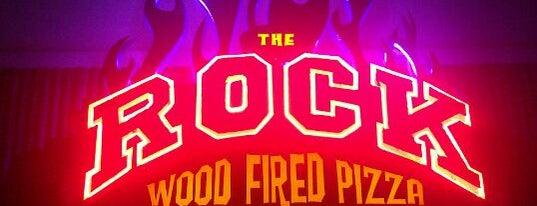 The Rock Wood Fired Pizza is one of my neighborhood.