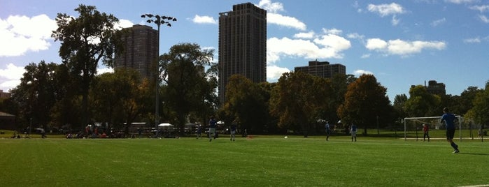 North Avenue Soccer Field is one of Posti che sono piaciuti a Brandon.