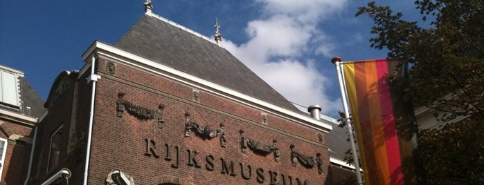 Rijksmuseum is one of Museus.