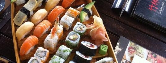Bambuszliget Japán Étterem & Sushi Bár is one of Ezeket is kipróbálhatnánk :).