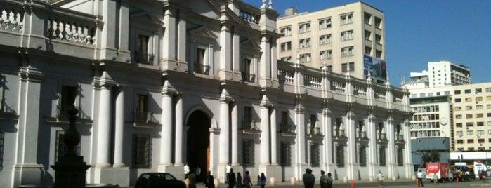Congreso Nacional de Santiago is one of [S]antiago.