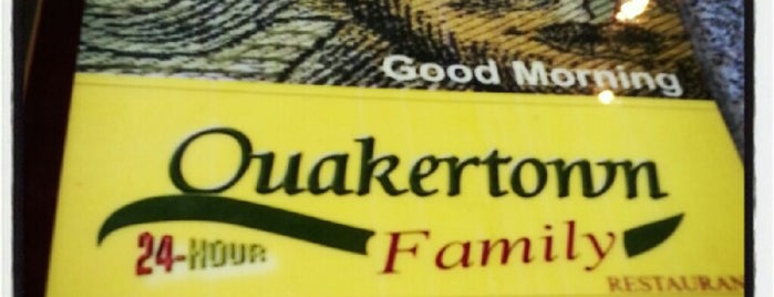 Quakertown Family Resturant is one of DJ Wolf 님이 저장한 장소.
