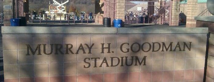 Murray H. Goodman Stadium is one of Lieux qui ont plu à Jake.