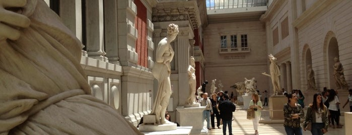 Carroll And Milton Petrie European Sculpture Court is one of New York Favorites.