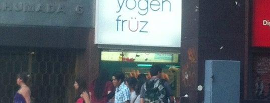 Yogen Früz is one of Comercio.
